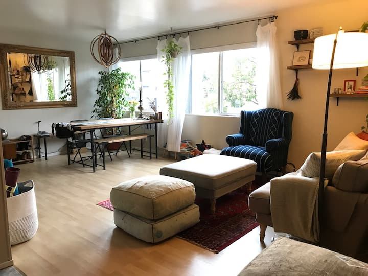 Beautiful modern 1-bedroom apt in heart of Mission