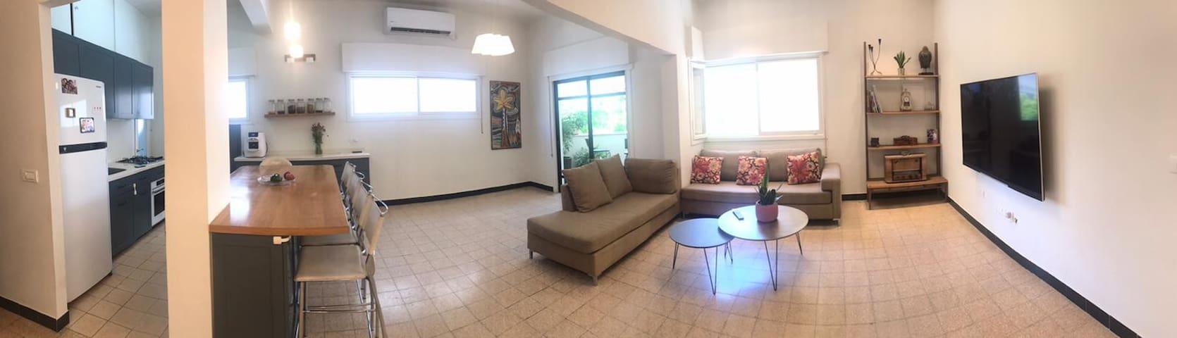 renovated  apartment in Dizingof square
