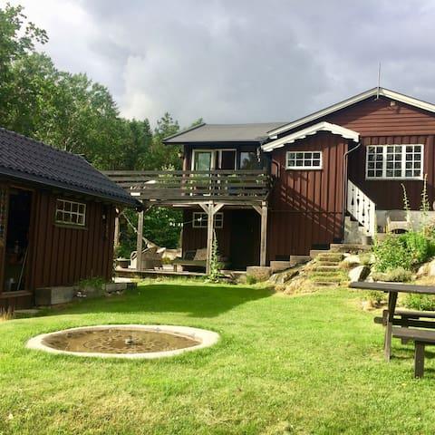 Uskjenert fritidsbolig på Kjøvangen i Son