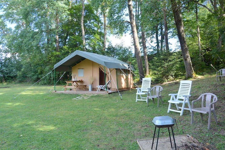 Logement insolite Safari Lodge Barret - Le Puy