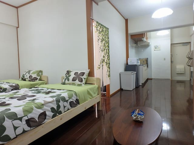 New OpenFree Parking & Free Wifi Max5 Naha 5-A - Naha-shi - Apartemen