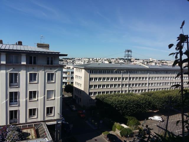 Chambre individuel en hyper-centre de Brest - Siam - Брес - Квартира