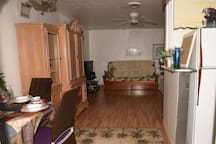 Charming, 1/1 large, open Living Room has everything you need here, now please be my guests..
