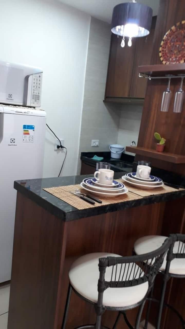 Apartamento Silencioso no Centro de Curitiba