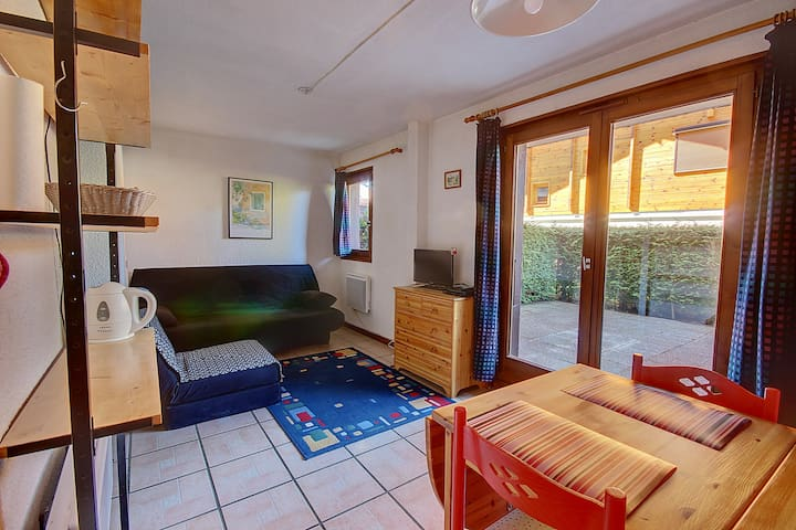 APARTMENT WITH PRIVATE GARDEN - MONTRIOND - 4 PEOPLE - OREE DE MORZINE 6C