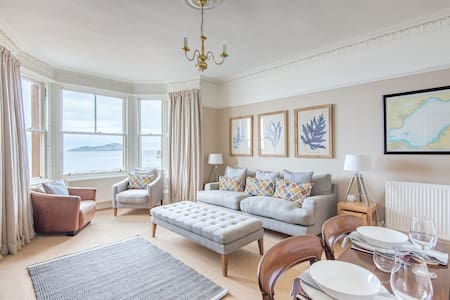Stylish beach front flat - North Berwick - Apartamento