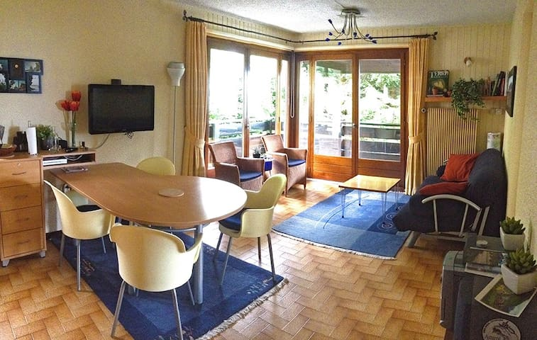 Lovely lake view apartment - Thollon-les-Mémises - Flat