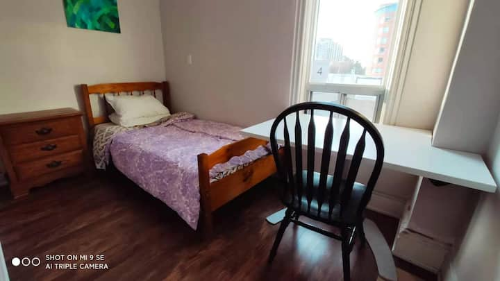 Small Bedroom at Bloor St and Lansdowne Ave