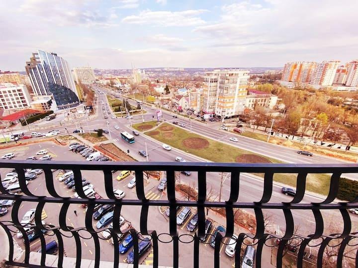 **** VIP **** Apartment CHIȘINĂU – LevTolstoi 8C2