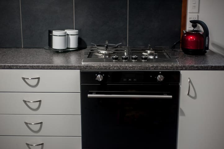 Gas hob and oven