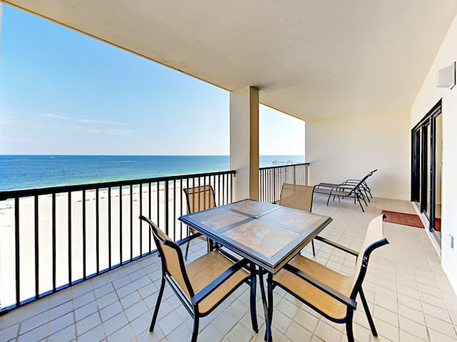 Enjoy the view from your private balcony.