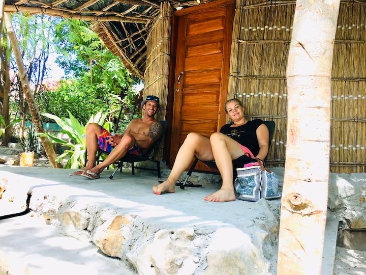 Bush beach hut 2