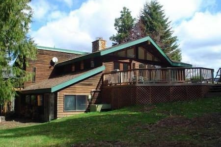 Spacious Mountain Cabin with Double Mountain Views - Parkdale, Mount Hood - Blockhütte