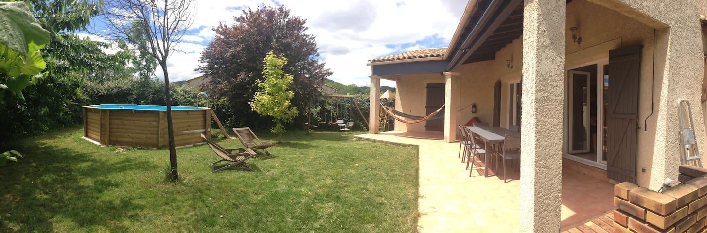 Villa calme à 20 min de Montpellier