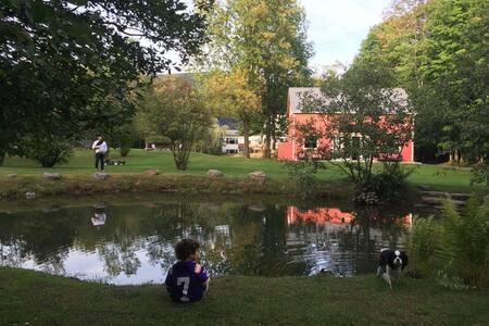 Designer Renovated Historic Barn w Swim Pond - Shokan - Dom