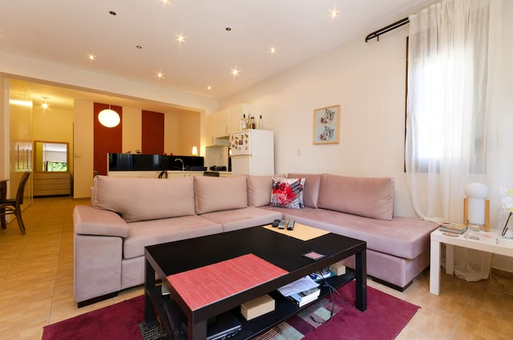 Cozy, luxury apartment fully equipped in Heraklion - Heraklion - House