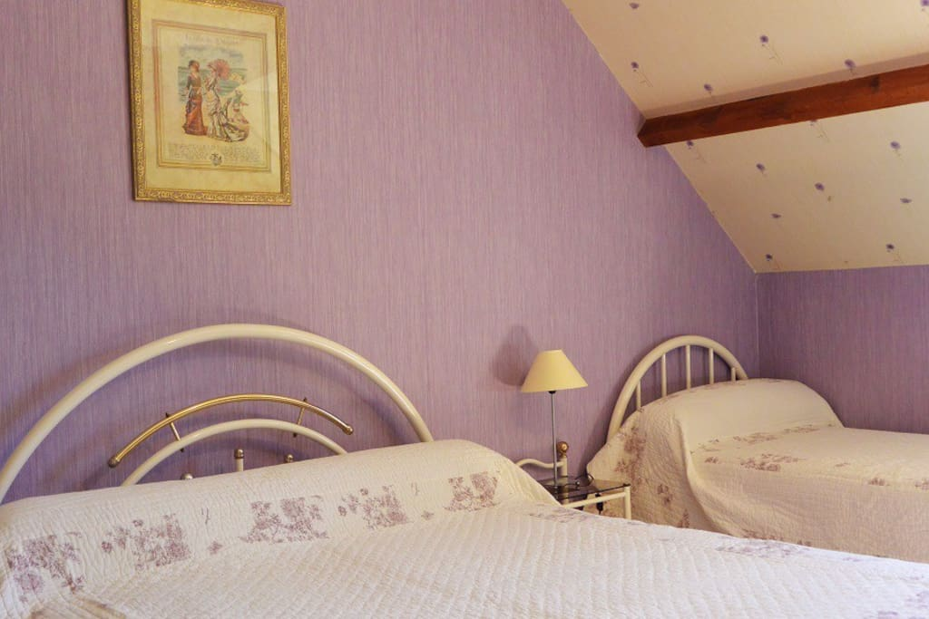 B b entre deauville et cabourg chambre d 39 h te bed and for Deauville chambre hote