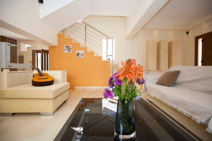 Feel like home with a spacious living room!