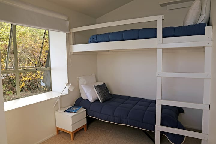 Single bunk bed only available in this room (no lower bed)