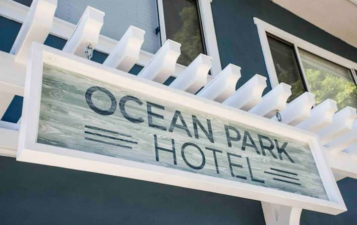 Charming boutique hotel in beautiful Ocean Park.