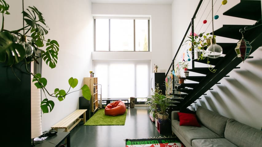 COSY and Spacious LOFT+WIFI+PARKING - Madrid - Loft