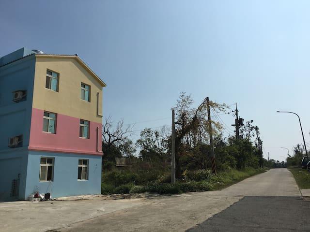 臨近太湖,林務所,營區的美麗小村落 - 金湖鎮 - Huis