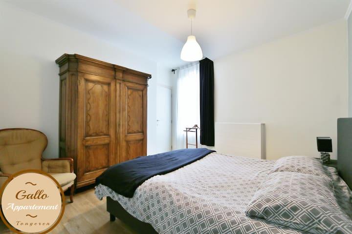 slaapkamer met kledingkast
