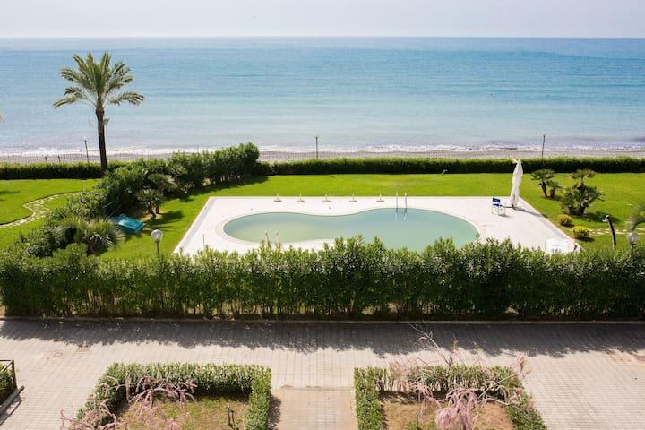 residence direttamente sul mare (camera hotel 20a) - Policastro Bussentino - Apartment