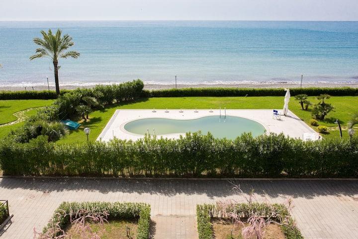 residence direttamente sul mare (camera hotel 20a)