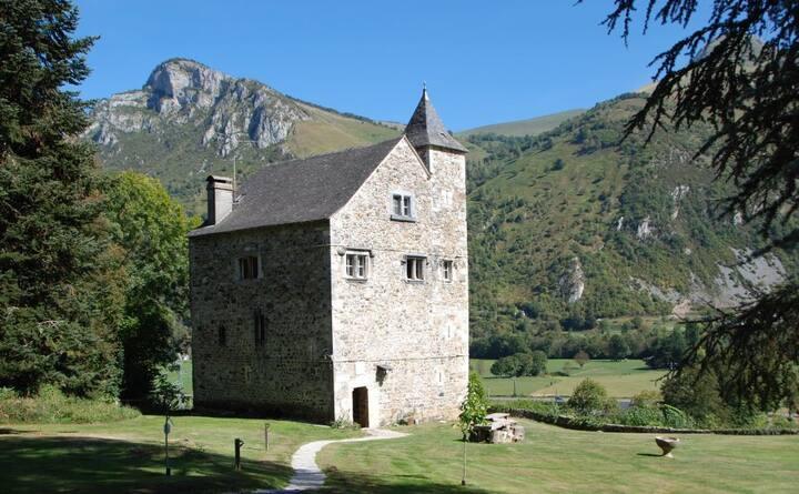 Chateau near Laruns