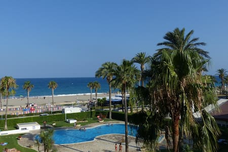 Appartement climatisé front de mer avec piscine - Мон-Роч дель-Камп