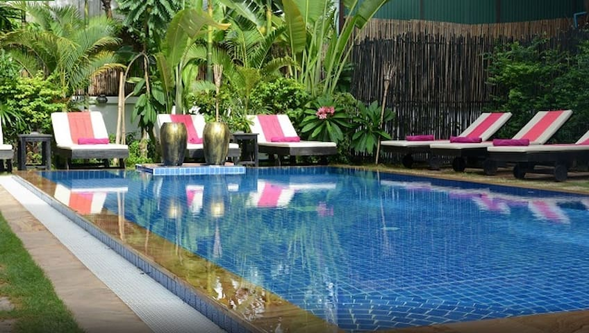 Lovely room, great location in Siem Reap - Krong Siem Reap - Hotel boutique