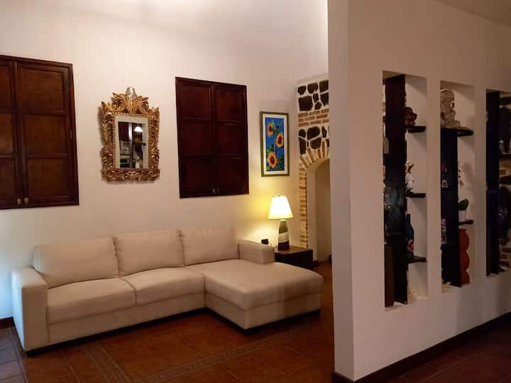 Acogedora casa en el Casco de Antigua Guatemala