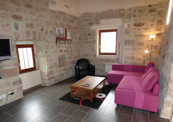 Le balcon: superbe gîte; 2 chambres indépendantes