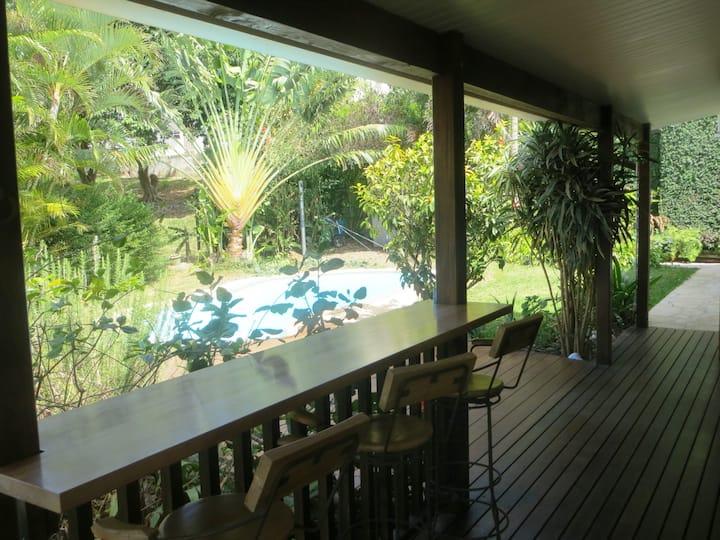 Belle villa F4 avec piscine au coeur de Nouméa