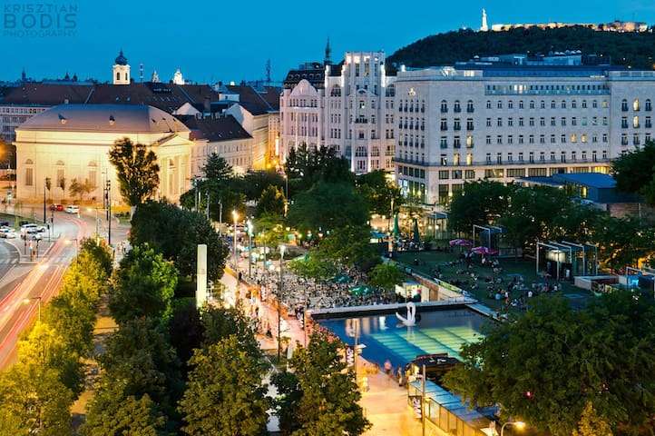 New apartment in Gozsdu terrace - Budapest - Pis