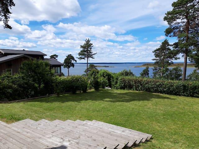 Beautiful house at the Oslofjord