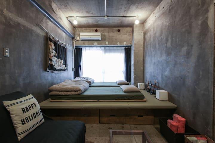 Modern Japanese Room Shinjuku Tokyo - Shinjuku-ku - 公寓