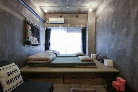 Modern Japanese Room Shinjuku Tokyo - Shinjuku-ku - Daire