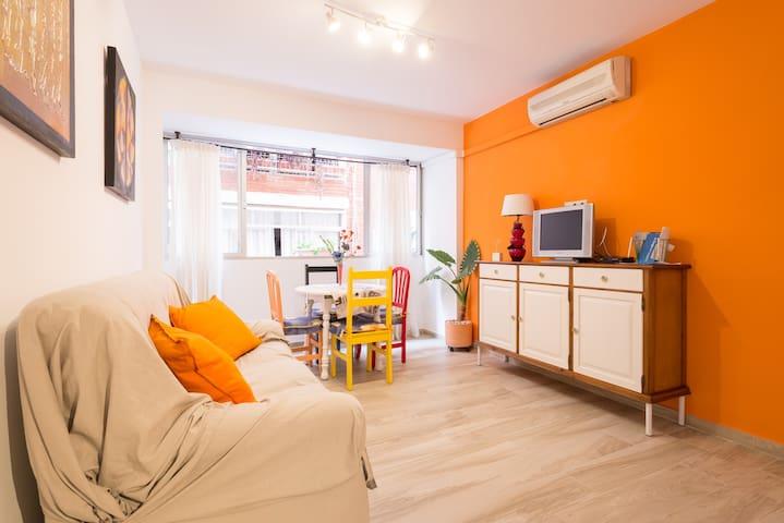 Apto. De 1 dormitorio muy céntrico y confortable - Malaga  - Byt