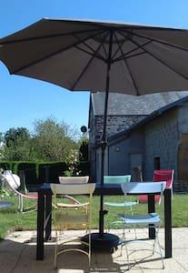 Petite maison avec jardin entre ville/mer/campagne - Anctoville-sur-Boscq