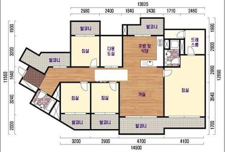 저녁 7시부터 다음날 8시까지만 가능한 방 - Hyeonsin 3-gil, Pyeongtaek - Lejlighed