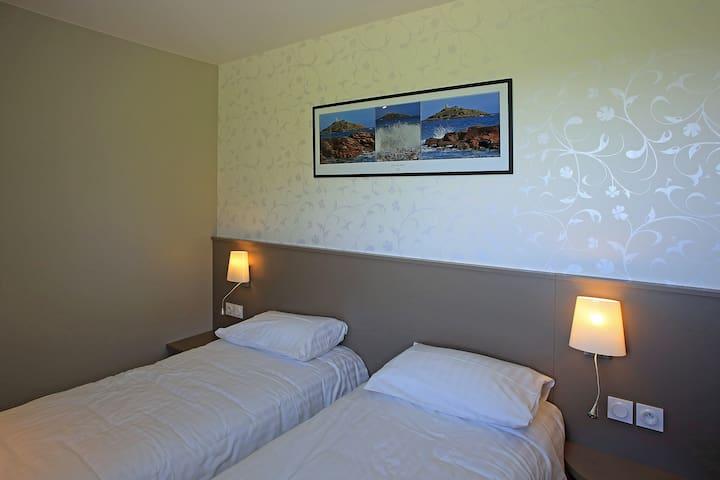 """La chambre """"L'ilôt St-Michel"""" - La Bouillie - Huoneisto"""