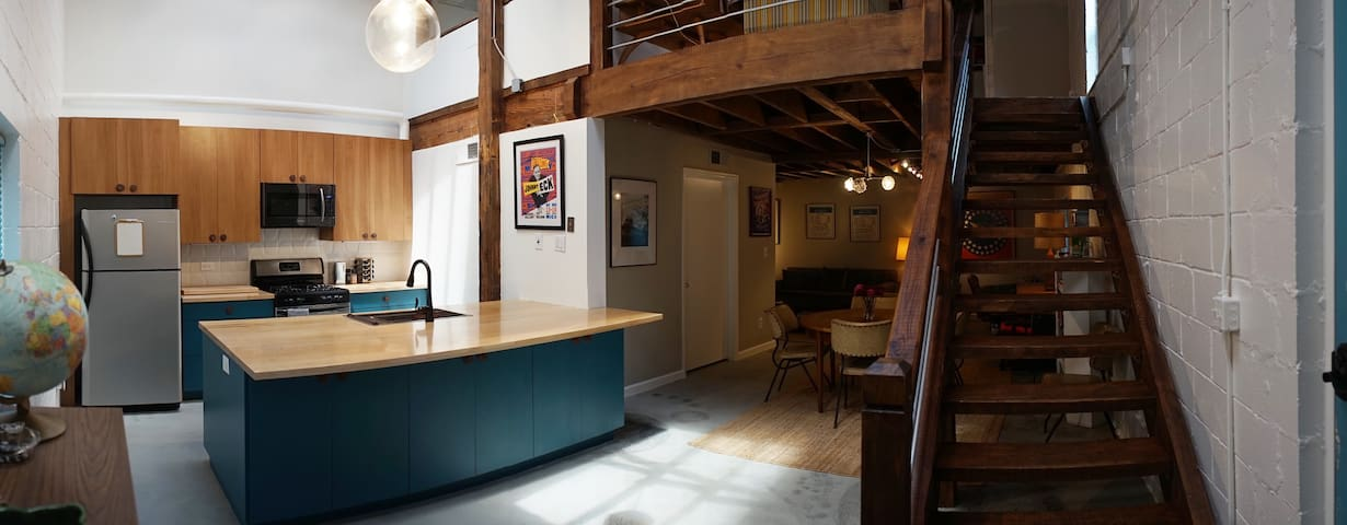 Authentic Loft in Candler Park
