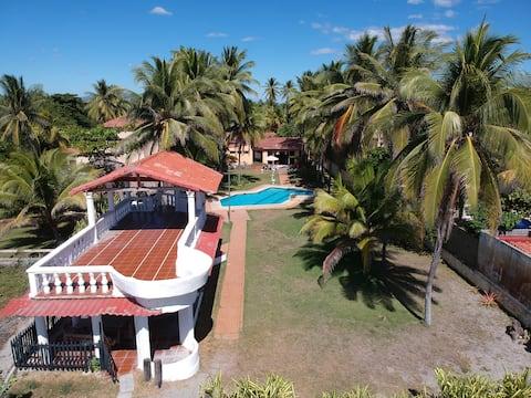 Beachfront Private Wonderful Villa Isamar