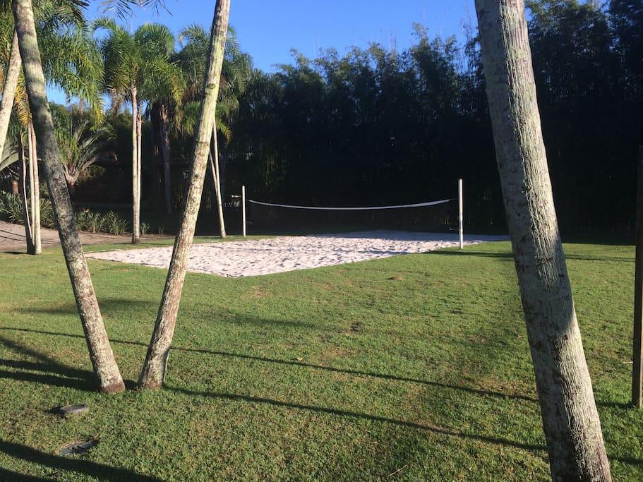 Quadra de Beach tenis