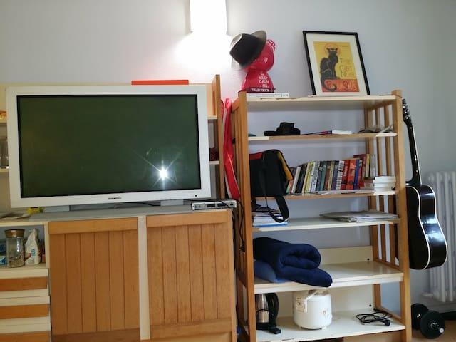 Sunny, friendly, funny, crazy room - Paris - Appartement