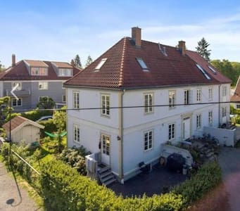 3 bedroom apartment with garden central Oslo