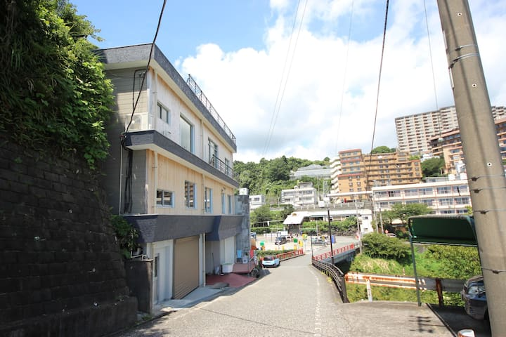 Dormitory,  only female, Sea house in Atagawa2
