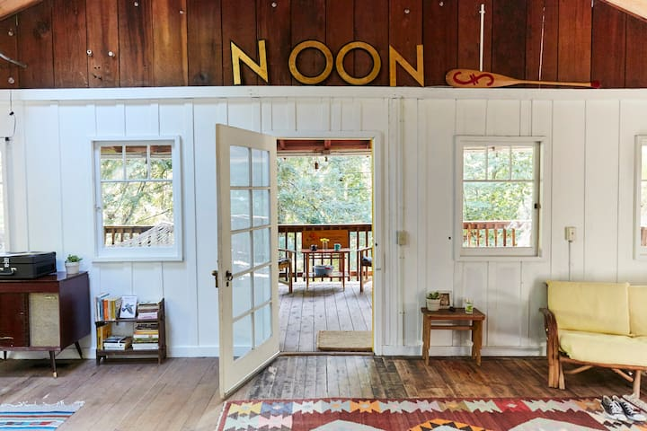 Camp Noon: A Redwood Retreat